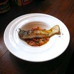 ラ プチット - マナガツオのピペラード。穏やかなトマトの風味が食欲を刺激します。♪