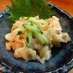 我琉 - ミミガー酢味噌和え(450円)
