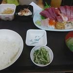 中央食堂 - 料理写真:特上刺身定食
