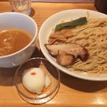 麺屋 武吉 - こってりつけ麺大盛です☆ 2017-0826訪問