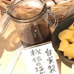馬肉と酒 生肉専家 TATE-GAMI - 自家製秘伝の塩ダレ