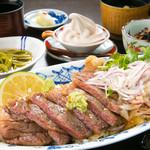 彩岳館 - 豊後牛ステーキ丼 2700円