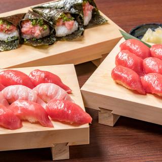 【本マグロの握り寿司食べ放題】を毎週火曜日に開催♪