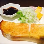玉かふぇ - バタートーストモーニング(コーヒーゼリー選択)