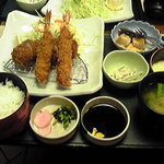 Tonkatsukewaike - コース料理です