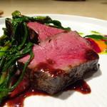 TTOAHISU - *お肉がキレイですし、火入れも完璧。 ランプらしい噛みごたえと旨みを感じ秀逸。