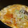 麦庵 - 料理写真:◆ミニスンドゥブ・・アサリとお豆腐などが入っています。辛味もありますが、干しエビの出汁を感じ美味しい。