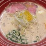 CHICKEN MEN - 味玉鶏白湯ラーメン