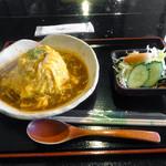 かふぇ八十八夜 - 料理写真:「オムライス」600円(日替りサービスメニュー)
