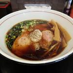 清麺屋 - ポンバシブラック