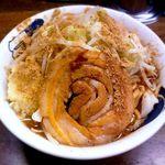 雷 - 雷そば(中)¥700+魚粉¥20 2011.8.16