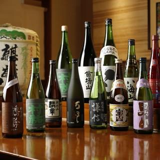 都内屈指の品揃え!日本酒セラーの在庫は常時200種以上
