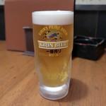 新和食 みやけ - 生ビール