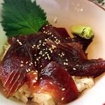 海宝丸 - 料理写真:マグロ漬け丼