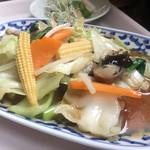 72087155 - ランチ_パッパッルァミッ(五目野菜炒め)¥980                       2017/08/26(土)