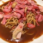 スパゲッティ・ハウス ヨコイ - ミラネーゼ850円、1.2は50円、ソース増しも50円増し