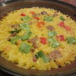 エル ヌエーボ - 豚肉と野菜のパエジャ
