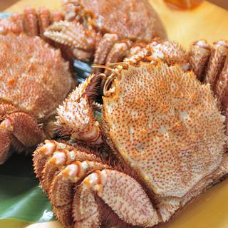 濃厚で身がぎっしり詰まった蟹ご用意しております!