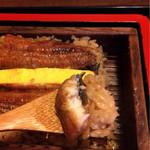 72088154 - ふっくらご飯とふわふわ鰻