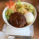 カフェ グッド タイム テラス - ロコモコ丼