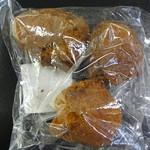 琉球銘菓 三矢 - アンダギー(黒糖・プレーン・紅芋)