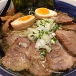 72089616 - 特製・炙りチャーシュー麺(\1100)+大盛り(\100)