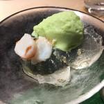 第三春美鮨 - 枝豆のすり流し