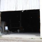 rub luck cafe - 外観は工場か倉庫です!