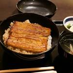 竹葉亭 - 鰻お丼大