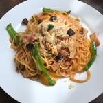 PiA - 黒にんにくスパゲッティー