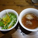 72093334 - サラダ&スープ