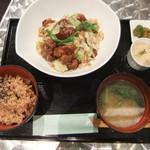 SUMI-BIO - 大豆ミートの回鍋肉ランチ♪
