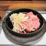 すき焼き はやし - 料理写真:特選和牛すき焼。4500円+税