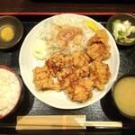 居酒屋 NIJYU-MARU - 唐揚げ定食