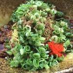 武蔵坊 - ハーフに花椒投入