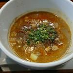 72099067 - 特製坦々つけ麺のスープ
