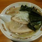 北海道らぁ麺 ひむろ - 函館塩らぁ麺+のりトッピング