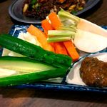 紅とん - 野菜スティック高砂長寿味噌添え 2017.6.23