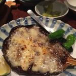 桃酔 - 米なす田楽チーズ焼き
