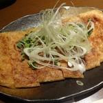 72103154 - 肉味噌チーズきつね焼
