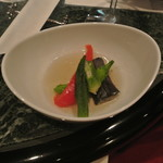 オールドサルーン1934 - 夏野菜の煮浸し 山わさび添え