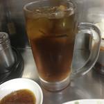 72103914 - 烏龍茶デカくて嬉しい。