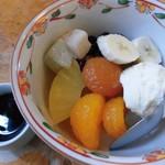 石鍋商店 - クリームみつ豆