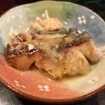 ささめ - ランチの小鉢(鰆の西京焼き)