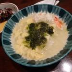 西村屋 和味旬彩 - かに雑炊(かにすきセット)