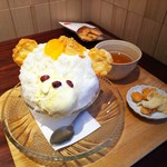 TAKAMIOKAKI - おかきやさんのフルーツしろくま氷