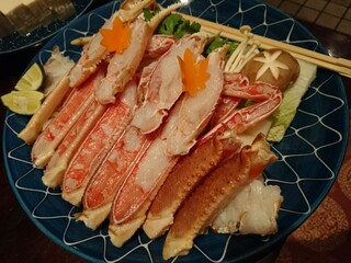 西村屋 和味旬彩 - かにすきセット(6,800円)