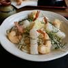 麦の香り - 料理写真:海老天お餅ぶっかけうどん