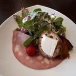 オステリア ピッカンテ ウノ - ランチセットのサラダ