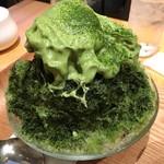 サー・トーマス・リプトン - 京都・和束産 抹茶エスプーマかき氷 1,180円